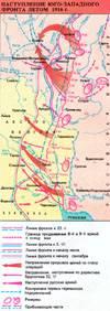 Наступ Південно-Західного фронту влітку 1916 р