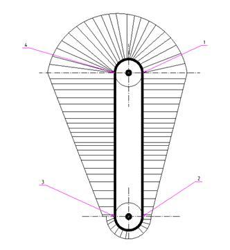 Элеватор ковшовый курсовая работа конструкция конвейеров пластинчатого